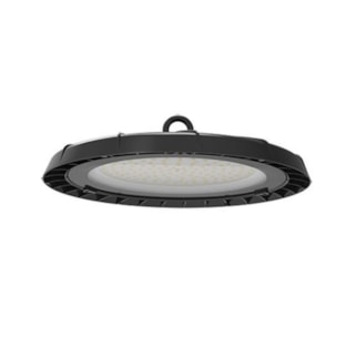 LUMINÁRIA INDUSTRIAL HIGHT BAY UFO 100W 8500Lm 90º 6000K IP65 PRETO